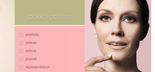 Original Blog Design For PaulaPatrice.com circa 1999