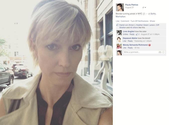 Paula Patrice Facebook NYC Soho