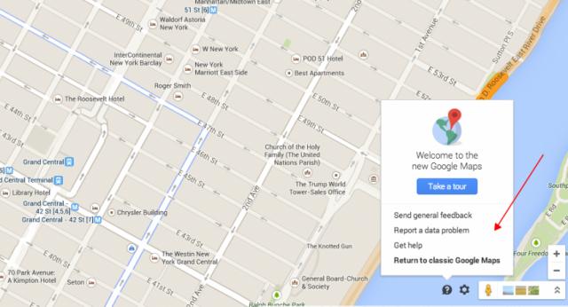Google Map Settings - Tip